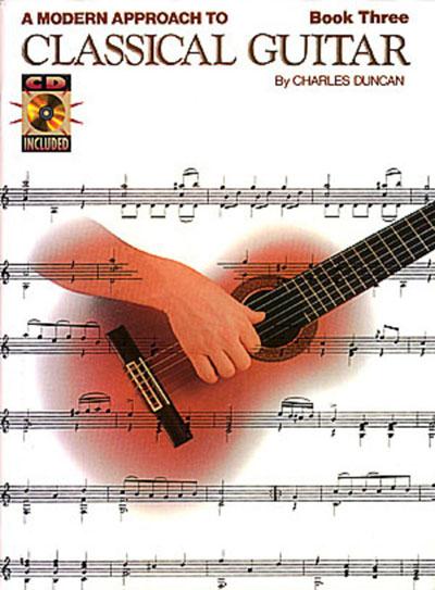 Modern Book Cover Guitar : Duncan a modern approach to classical guitar book cd