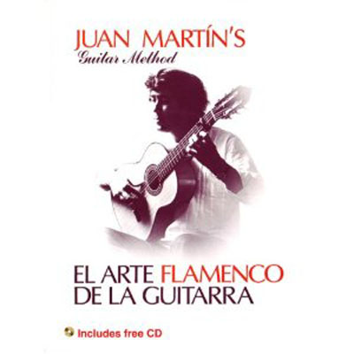 Juan Martin, El Arte Flamenco de la Guitarra Vol 1 & 2 Book w/CD