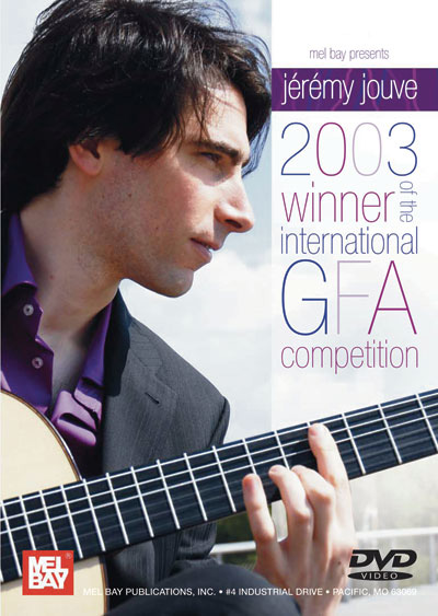 Jeremy Jouve | 2003 Winner of the Intl. GFA Competition DVD