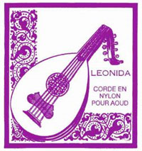 Savarez LEONIDA (strings for oud) 5580, 1 set of 10 strings