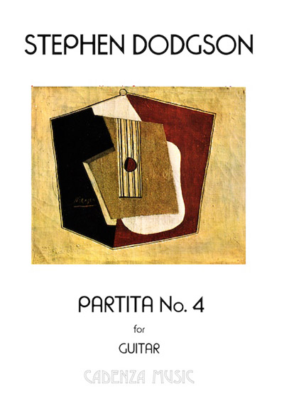 Partita No. 4 for guitar