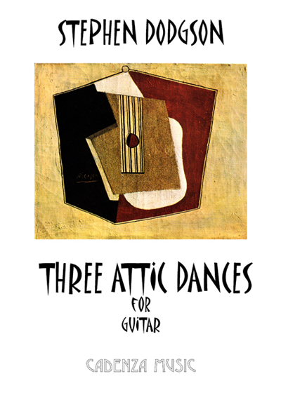 Three Attic Dances for guitar
