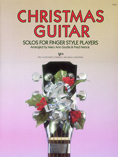 Christmas Guitar solos for Finger Style Players