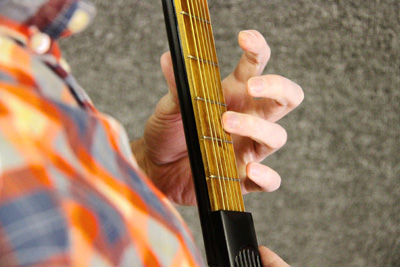Pocketstrings Portable Guitar Practice Tool - 6 fret