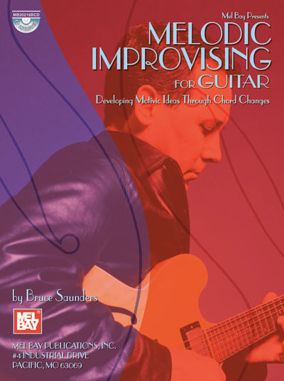 Melodic Improvising For Guitar Book/CD Set