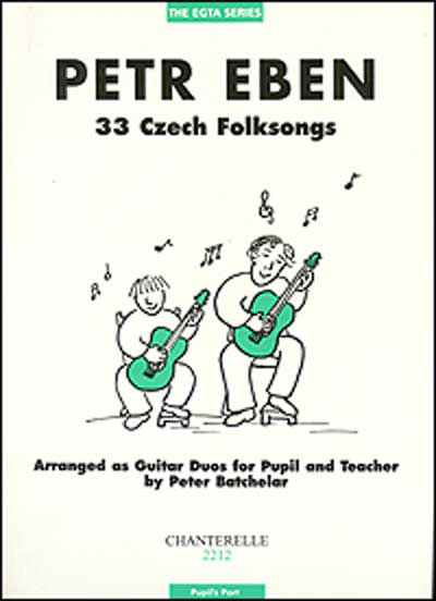 Petr Eben | 33 Czech Folksongs, pupil's part