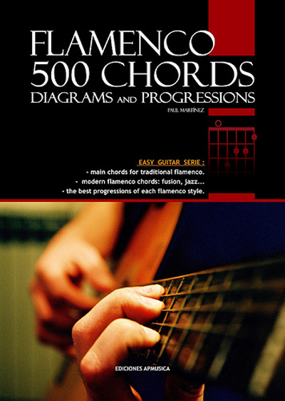 Paul Martinez, Flamenco 500 Chords, Diagrams and Progressions