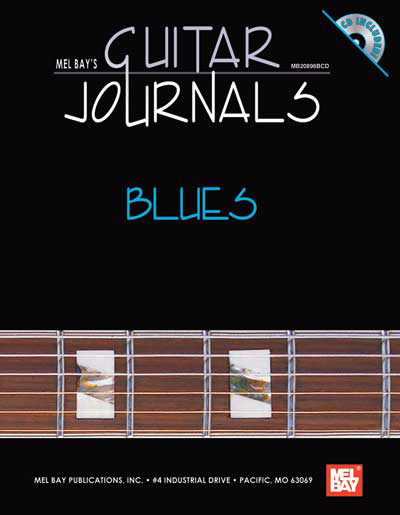 Mel Bay's Guitar Journals - Blues book/cd