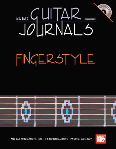Mel Bay's Guitar Journals - Fingerstyle book/CD