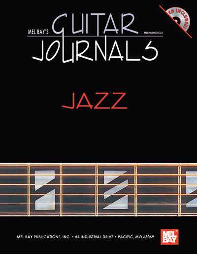 Mel Bay's Guitar Journals - Jazz Book/CD Set