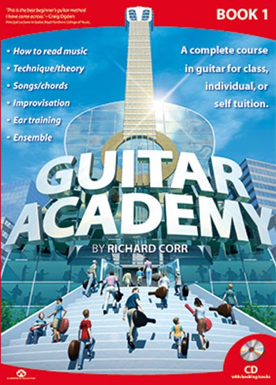 Guitar Academy Book 1 with CD by Richard Corr