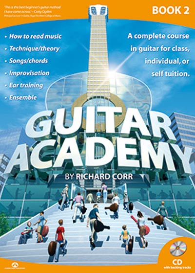 Guitar Academy Book 2 with CD by Richard Corr