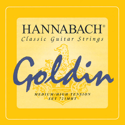 Hannabach Goldin 725 - Medium High Tension, Goldin Bass Set