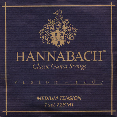 Hannabach Custom Made 728 - Medium Tension, Full Set