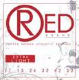RED Brand Guitar Strings