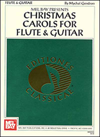 Christmas Carols for Flute & Guitar Book/CD Set