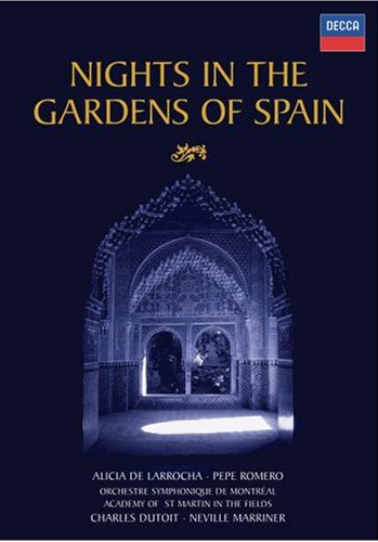 Pepe Romero, Alicia de Larrocha - Nights In The Gardens Of Spain DVD