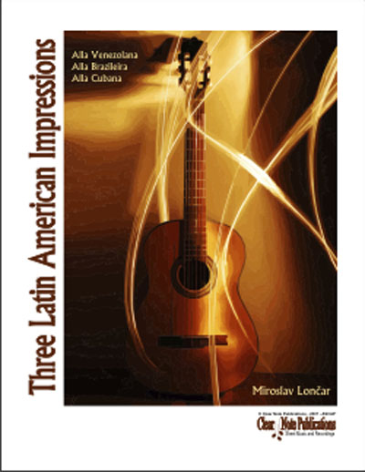 Three Latin American Impressions for solo guitar