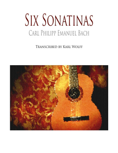 Six Sonatinas for solo guitar | Carl Philipp Emanuel Bach