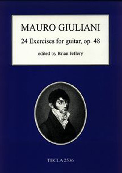 Mauro Giuliani | 24 Exercises for guitar, Op. 48 ed. by Brian Jeffery