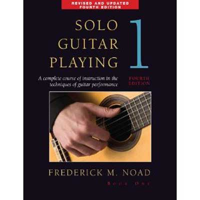 Solo Guitar Playing Volume 1, Book only, Frederick Noad