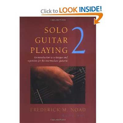 Solo Guitar Playing Volume 2, Book only, Frederick Noad
