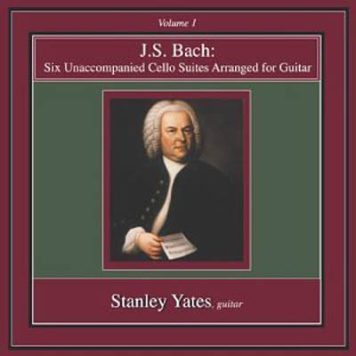 J. S. Bach | Six Unaccompanied Cello Suites Vol. 1 CD