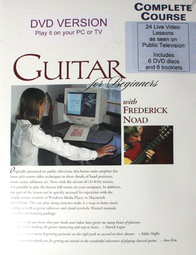 Frederick Noad | Guitar for Beginners Complete Course DVD