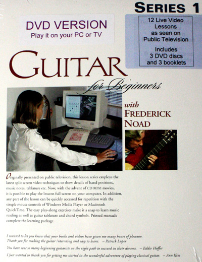 Frederick Noad | Guitar for Beginners Series 1 DVD