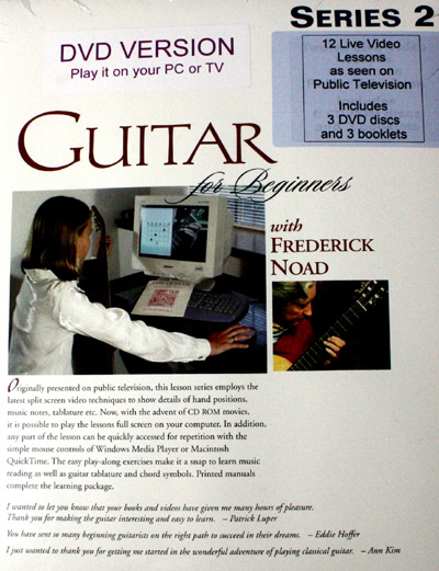 Frederick Noad | Guitar for Beginners Series 2 DVD