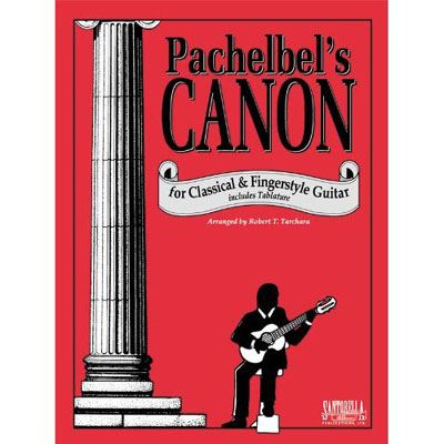 Pachelbel's Canon for classical and fingerstyle guitar