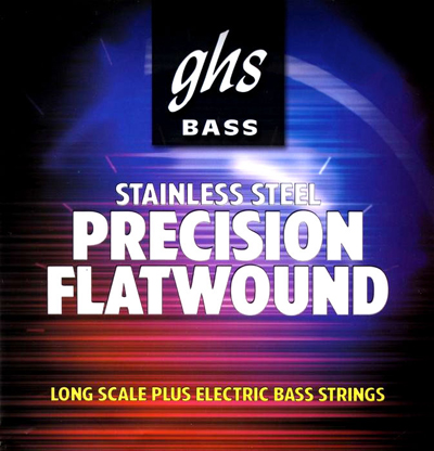 GHS 3025 Precision Flats Stainless Steel Electric Bass (45-95)