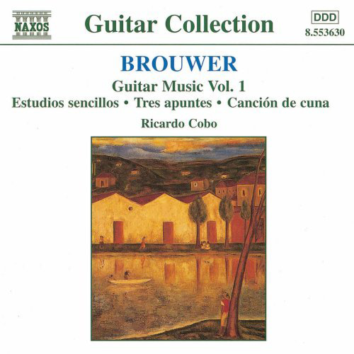 Ricardo Cobo | Brouwer Guitar Music Vol. 1 CD