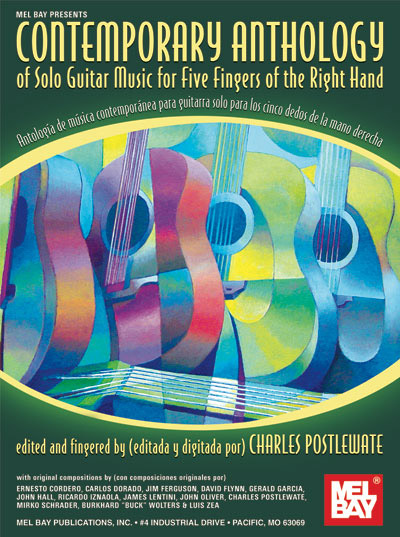 Contemporary Anthology of Solo Guitar Music by Charles Postlewate