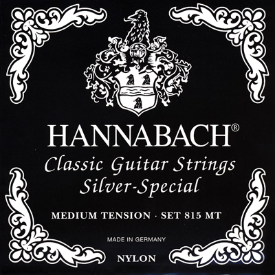 Hannabach Silver Special 815MT - Medium Tension, Full Set