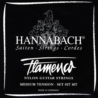 Hannabach Flamenco 827MT - Medium Tension, Full Set