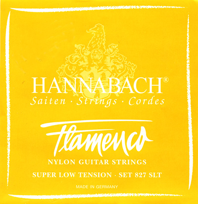 Hannabach Flamenco 827SLT - Super Low Tension, Full Set