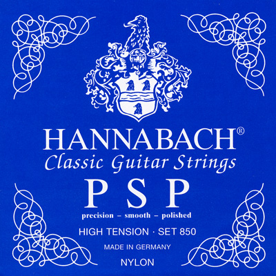 Hannabach Precision Smooth Polished 8507HT - High Tension, Bass Set