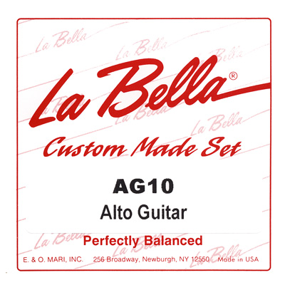 La Bella Alto Guitar Strings AG10, Full Set