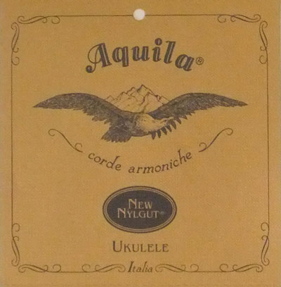 Aquila Tenor Ukulele All Nylgut Regular Tuning, Full Set