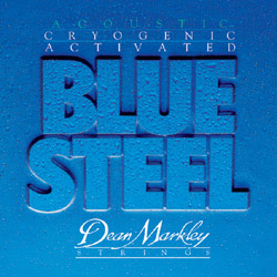 Dean Markley 2034 LT Blue Steel Acoustic 92/8 Cryogenic (11-52)