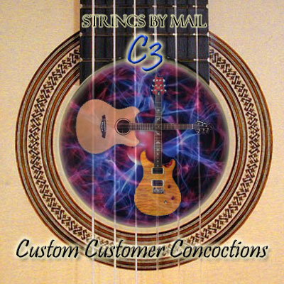 Custom Customer Concoction | Goldin�Silver 7 String Set