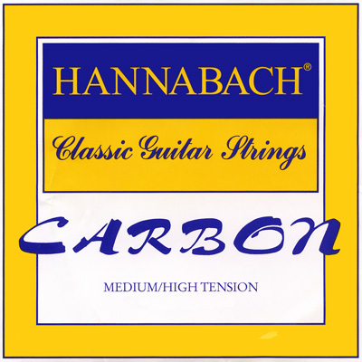 Hannabach Carbon Trebles - Medium High Tension, (E1,H2,G3) Treble Set