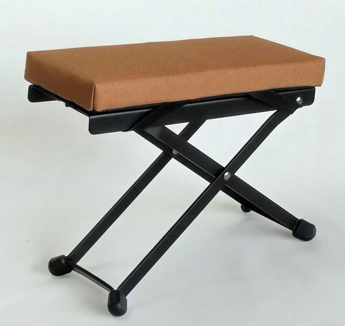 Bark River Comfort Cushion For Guitar Footrests Caramel