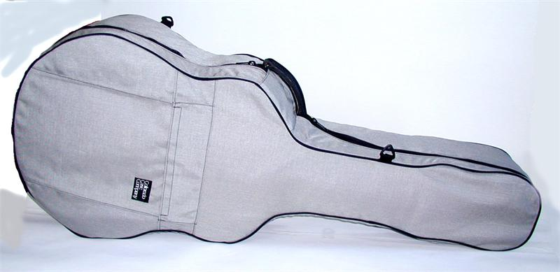 Classical Guitar Case Cover - Standard Insulated, Silver