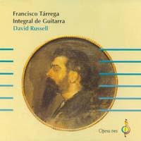 Russell | Francisco Tarrega - Integral de Guitarra CD