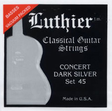 Luthier Concert Dark Silver Set 45 High Tension, Bass Set