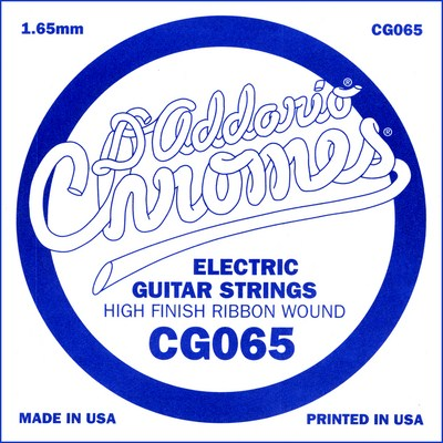 D'Addario CG065 XL .065 inches (1.65 mm), Single String