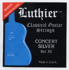 Luthier Concert Silver Set 30 Medium-High Tension, Full Set