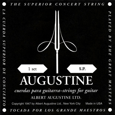 Augustine Black Low Tension, Bass Set